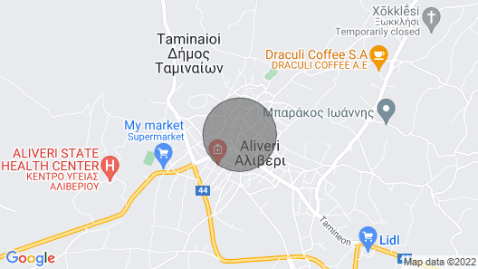 Renovated Traditional Stone House in Evia, Greece Map