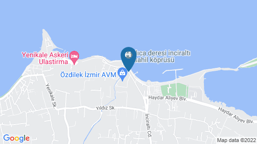 Wyndham Grand Izmir Ozdilek Map