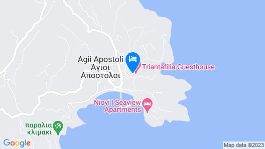Triantafilia Guesthouse Map