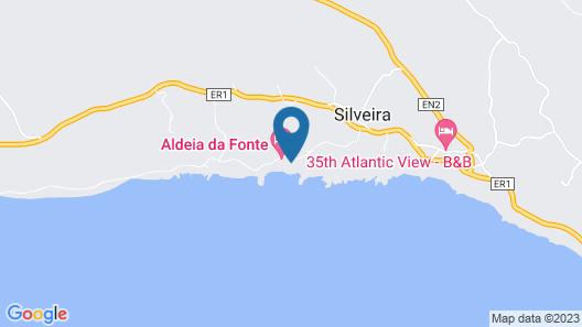 Aldeia da Fonte Hotel-Apartamentos Map