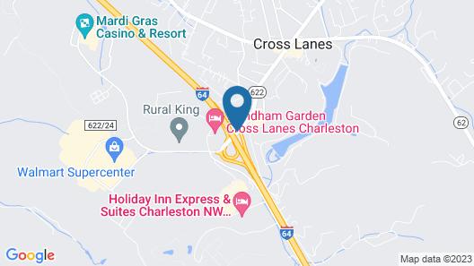 Wyndham Garden Cross Lanes Charleston Map