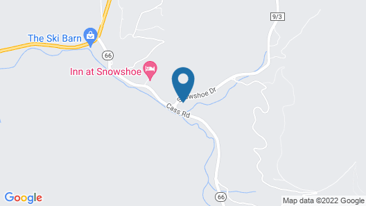 The Inn at Snowshoe Map
