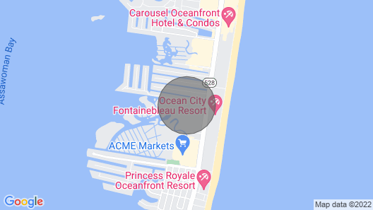 Vacation Without Worry BAYFRONT Map