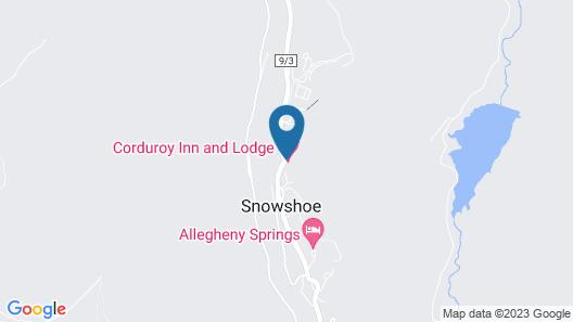 Corduroy Inn & Lodge Map