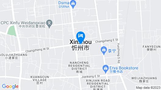 Days Hotel by Wyndham Shanxi Xinzhou Map