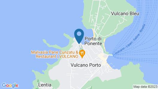 Mari del Sud Resort Map