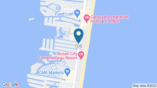 Comfort Inn Gold Coast Map