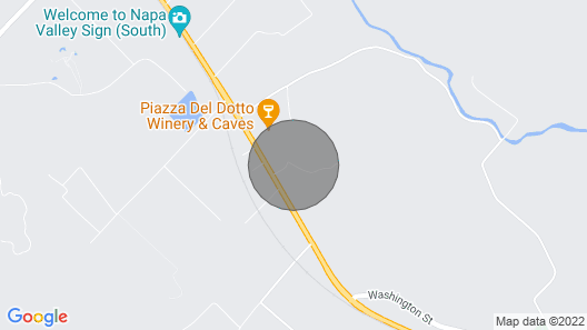Located in the Heart of the Napa Wine Country Map