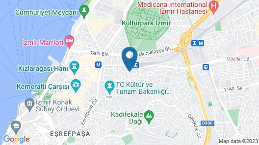 Hotel Baylan- Basmane Map