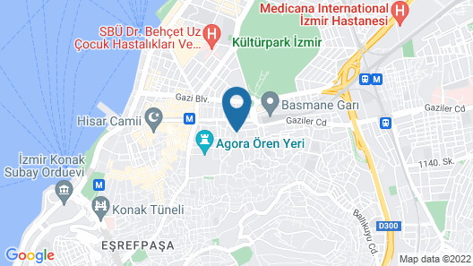 Olimpiyat Otel Izmir Map