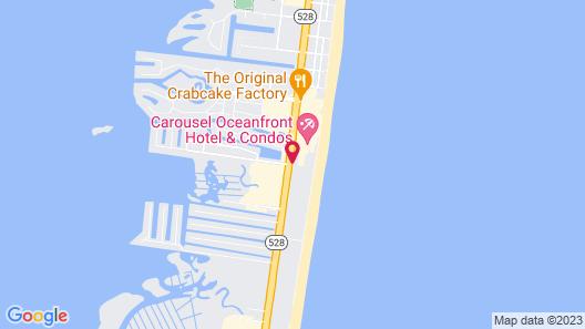 Carousel Resort Hotel & Condominiums Map