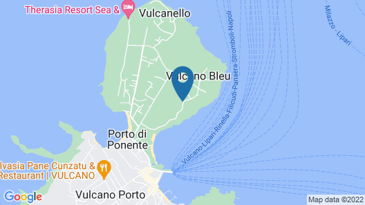 Vulcanello Costa Resort Map