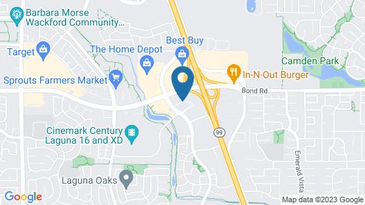 Hilton Garden Inn Sacramento Elk Grove Map
