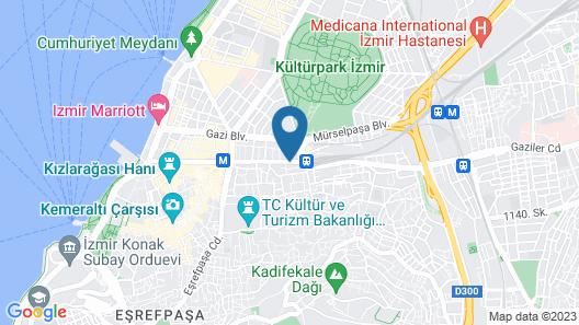 Smart Hotel Izmir Map