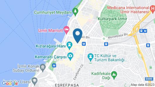 Hotel 86 by Katipoglu Map