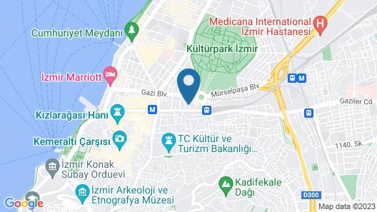 Oglakcioglu Park Boutique Hotel Map