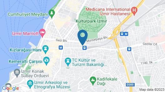 Walk In Hotel Map