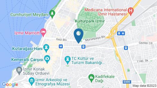 Guzel Izmir Oteli Map