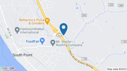 Southern Hills Inn Map
