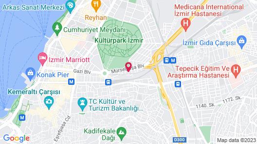 Avin Hotel Map