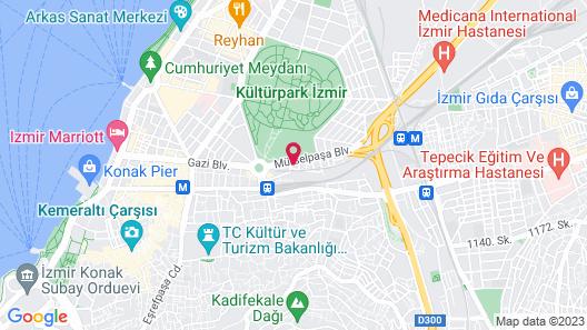Ramada Plaza by Wyndham Izmir Map