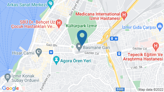 Ramada Plaza by Wyndham Izmir Map