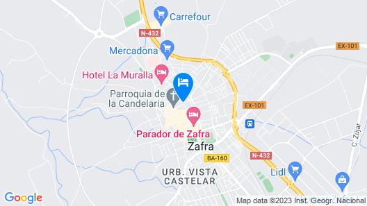 Hotel Casa Palacio Conde de la Corte Map
