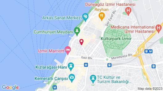Renaissance Izmir Hotel Map