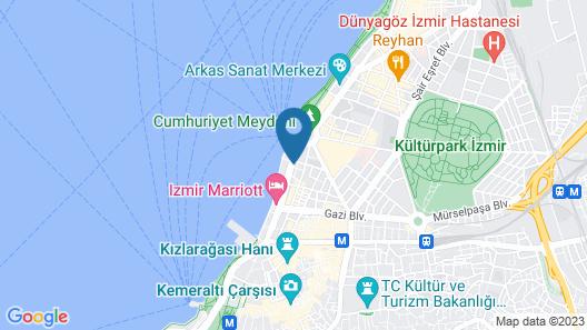 Park Inn by Radisson Izmir Map