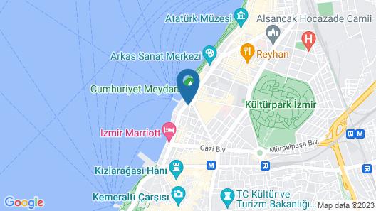 Mövenpick Hotel Izmir Map