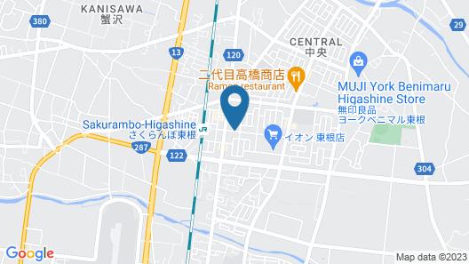 Best Western Yamagata Airport Map