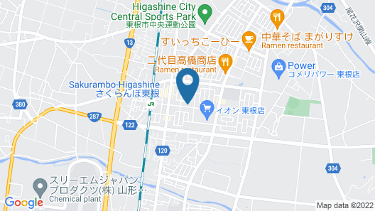 Super Hotel Yamagata Sakuranbo Higashine Ekimae Map