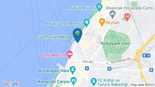 Movenpick Hotel Izmir Map