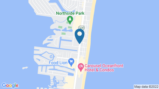 Country Inn & Suites by Radisson, Ocean City, MD Map