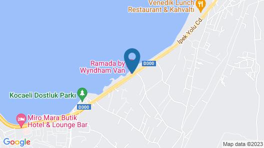 Ramada by Wyndham Van Map