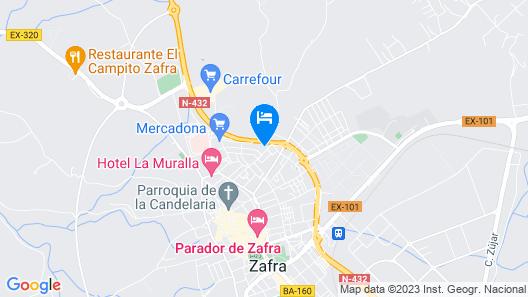 Hostal Arias Map