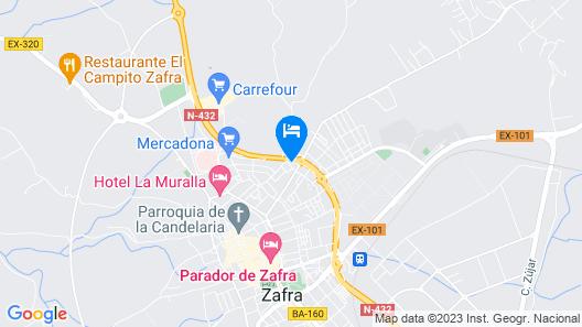 Hotel Las Eras Map