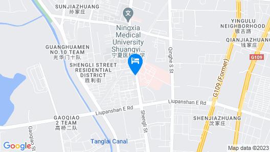 7 Days Inn Map