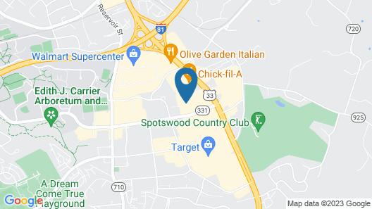 Hampton Inn Harrisonburg - University Map