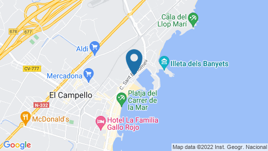Beferent - La Isleta Map