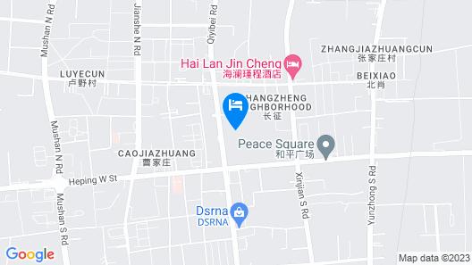 Shiyou Hotel - Wutaishan Map