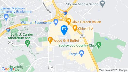 Holiday Inn Express & Suites Harrisonburg University Area, an IHG Hotel Map