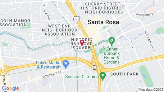 Hyatt Regency Sonoma Wine Country Map