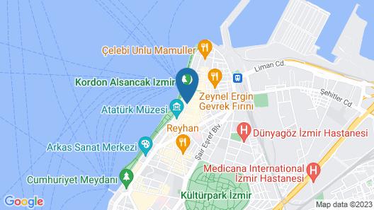 Viva La Vita Butik Otel Map