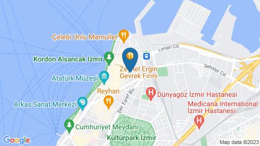 Hotel Apart Alsancak Map
