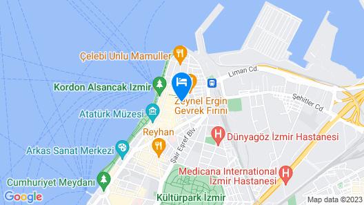Otel Balca Map