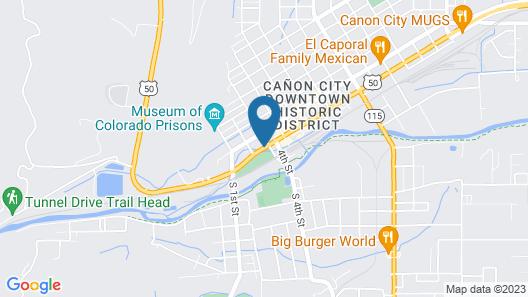 Parkview Inn Motel Map