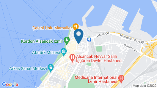 Shantihome Hostel Map