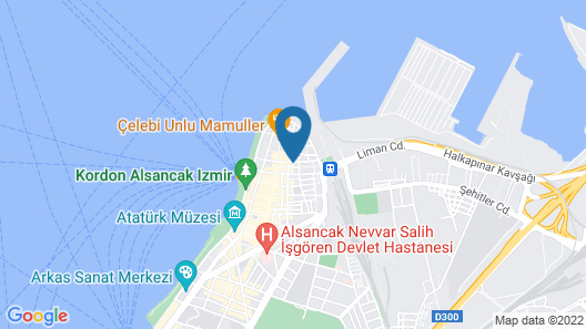 Simal Butik Hotel Map
