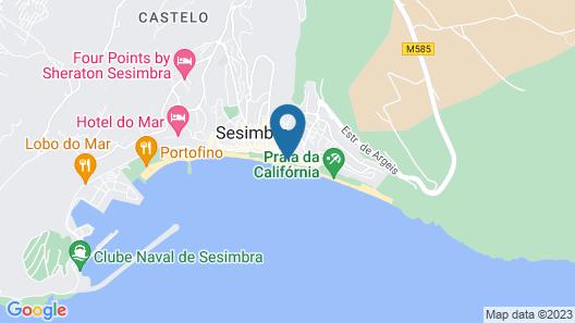 SANA Sesimbra Hotel Map